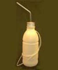 Trinkflasche C, ca. 750 ml, Edelstahlpipette
