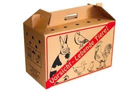 Tier-Transport-Kartons<br>1 Pack = 10 Stück