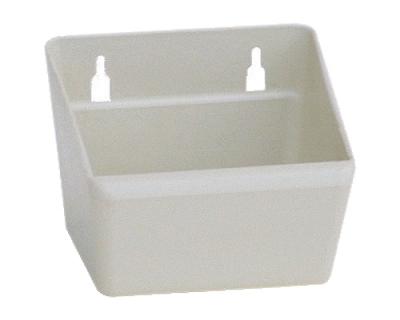 Wandnapf ABS, weiß, 750 ml