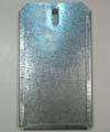 Kartenhalter aus Zinkblech, groß, DIN A 6