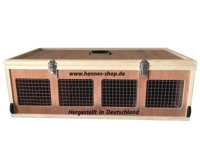 Transportkiste für Kaninchen <br>Zwerge 4 Abt >nach TVO<