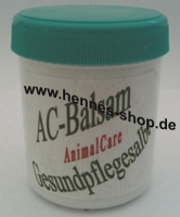 "<b>""AnimalCare""</b> - AC-Balsam<br>>Gesundpflegesalbe<"