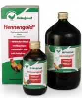 Hennengold <br>> flüssiges Mineralfutter <
