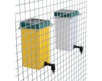 Trinkflasche >gelb< 1000 ml mit Drahtbügel