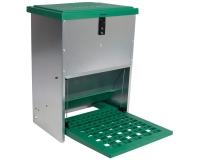 Hühnerfutterautomat mit Trittklappe 12 kg